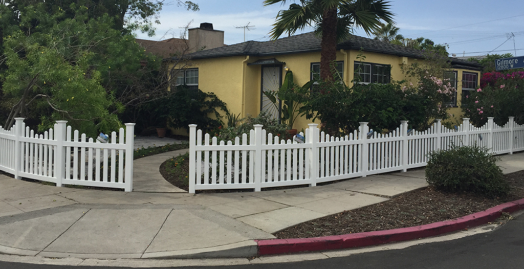 los angeles vinyl fencing cost