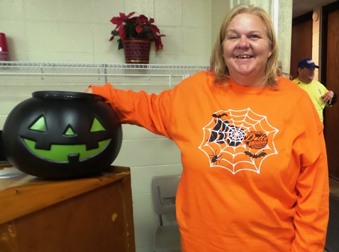 Shelly Boyd, program coordinator with Wyandotte County Parks. (Photo by Lou Braswell)