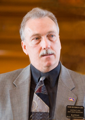 House Minority Leader Tom Burroughs
