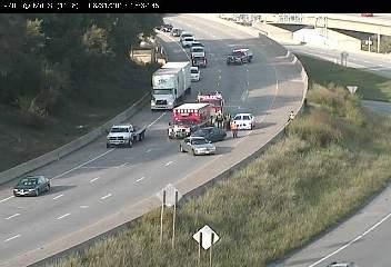 Crash reported on I-70