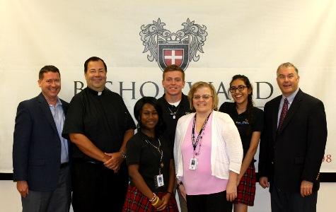Bishop Ward fund to receive $400,000 gift