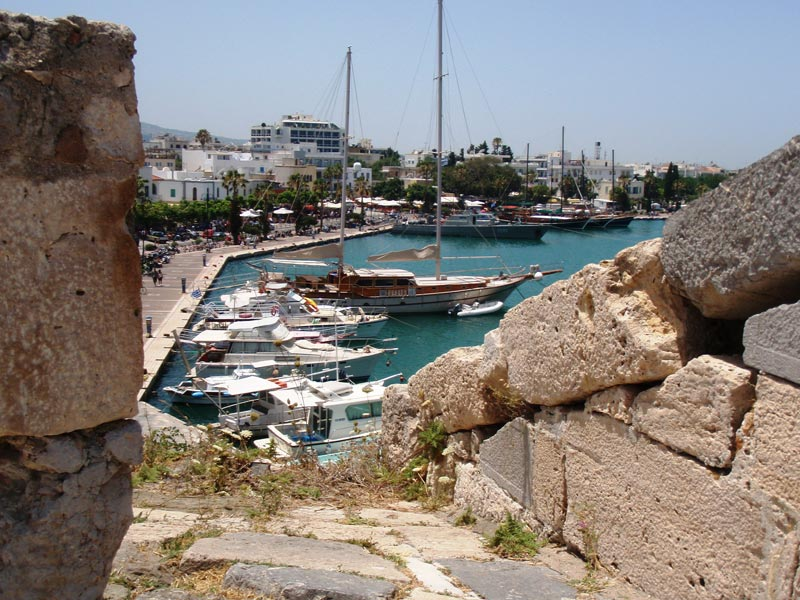 Marina on the Island of Kos