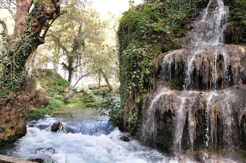 Waterfall near Antalya Turkey