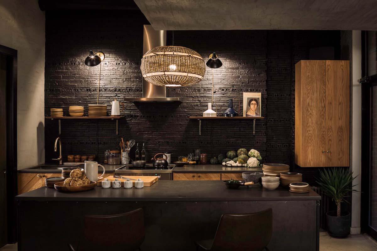 Workshop Kitchen & Bar architecture and interior design by Sguera Architecture PLLC New York.