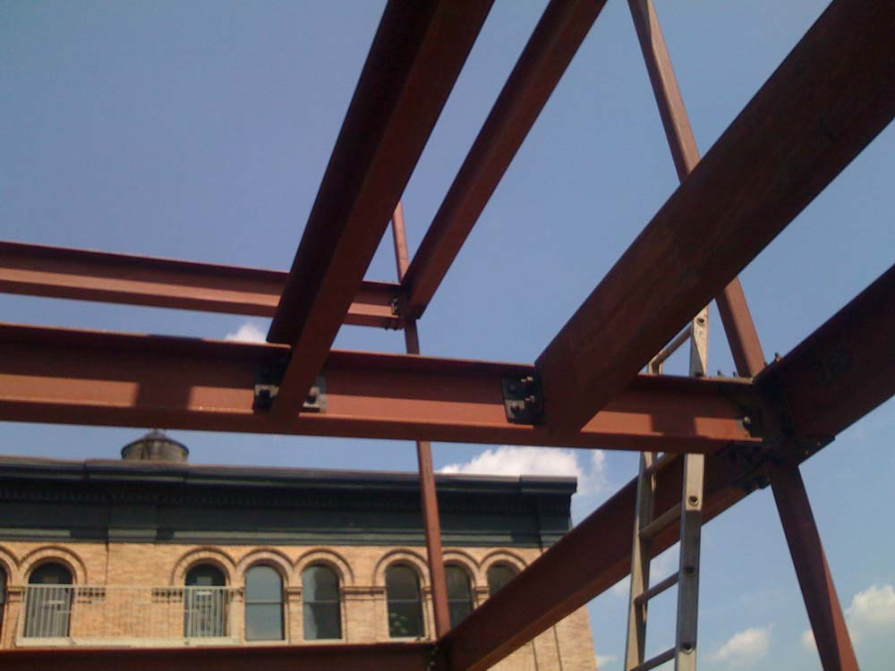 Tribeca Multifamily Steel Erection