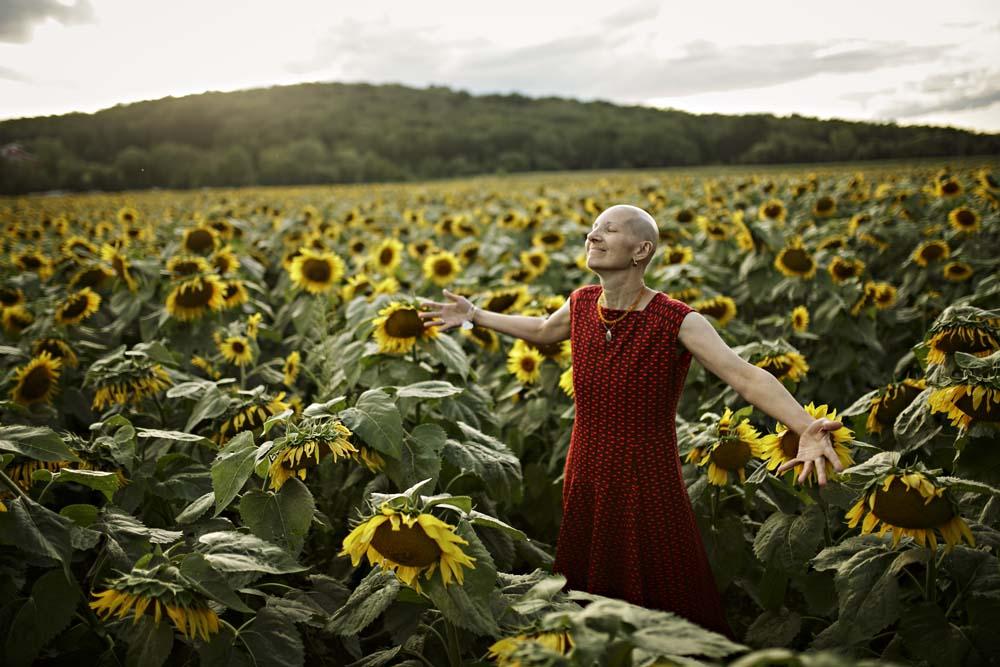 sunflower woman 1