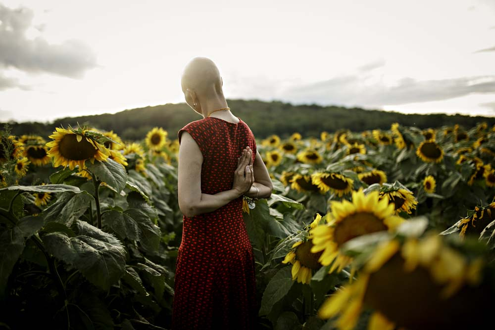 sunflower woman 2