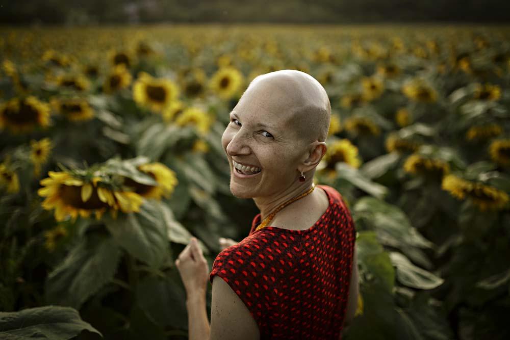 sunflower woman 3