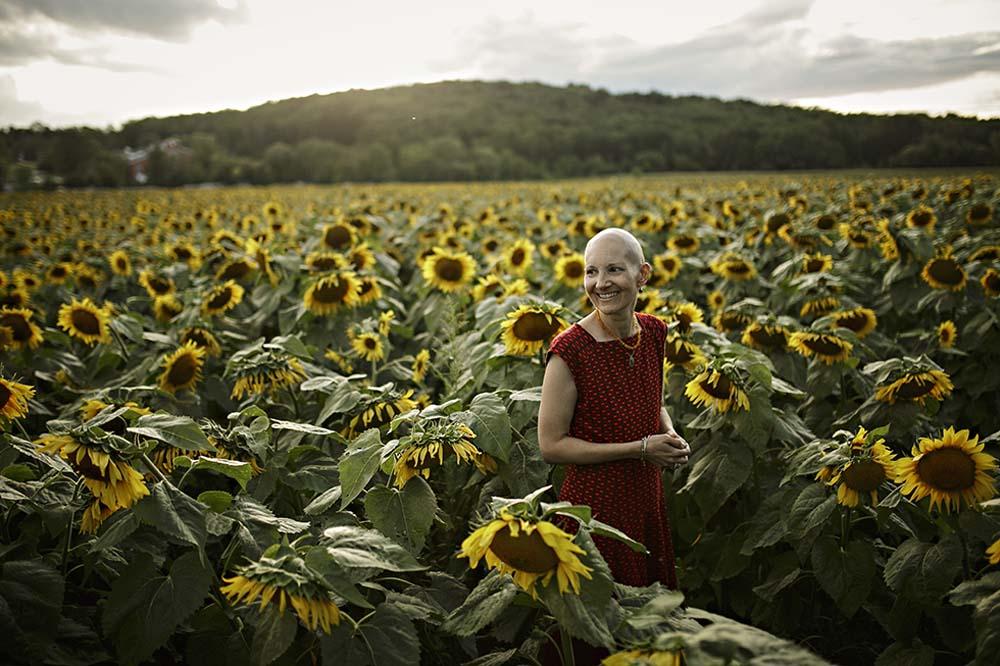 sunflower woman 4