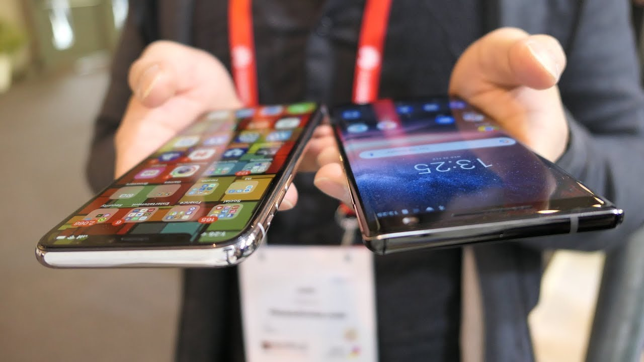 It looks like Apple and Nokia will battle over cell phone patents