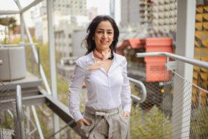 Samira Miryahyaei, mentee in the 2018 Energy-Minerals Resources program in VIC (RMIT) Image: Abigail Trewartha