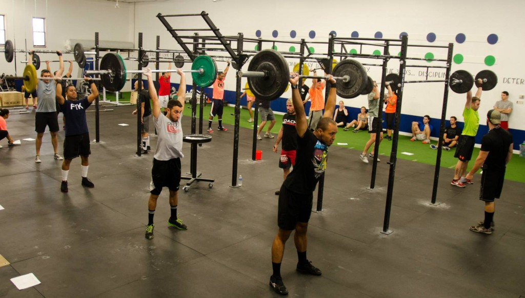 Getting After it at CrossFit Supercharged