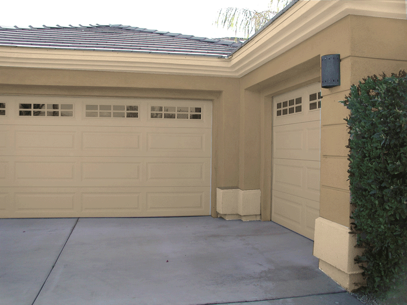Garage Trim Accents Make a Difference