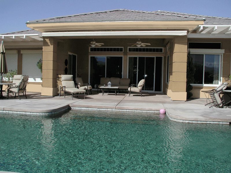 Home and Pool Perfect in Detail