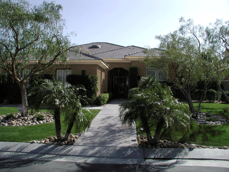 Traditional Tropical Desert Home