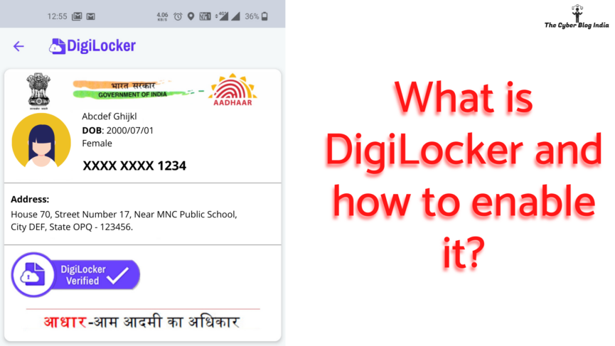 What is DigiLocker and how to enable it?