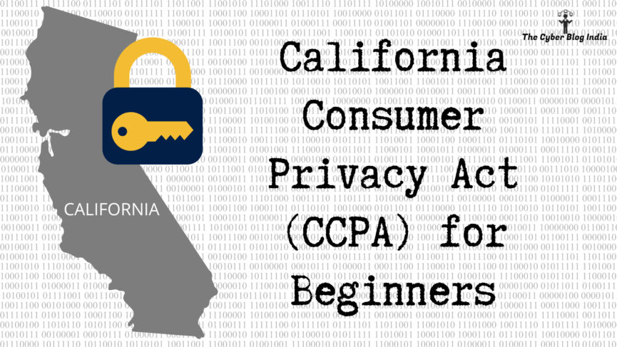 California Consumer Privacy Act (2018)