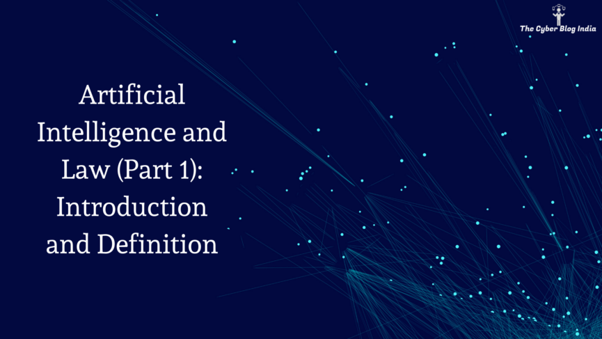 Artificial Intelligence and Law (Part 1): Introduction and Definition