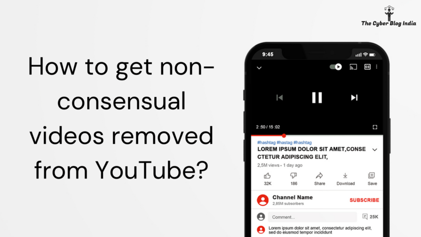 How to get non-consensual videos removed from YouTube