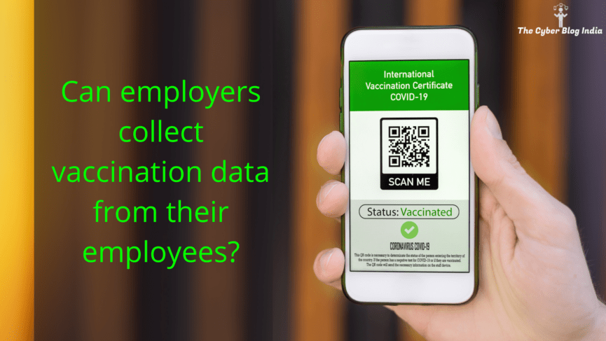 Can employers collect vaccination data from their employees