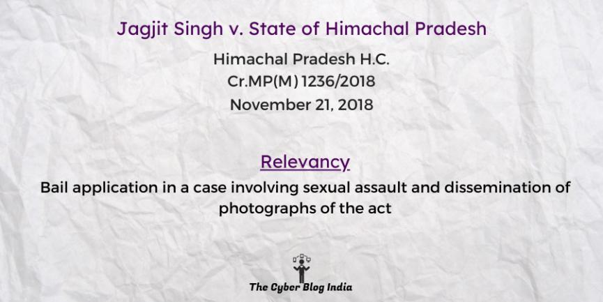 Jagjit Singh v. State of Himachal Pradesh
