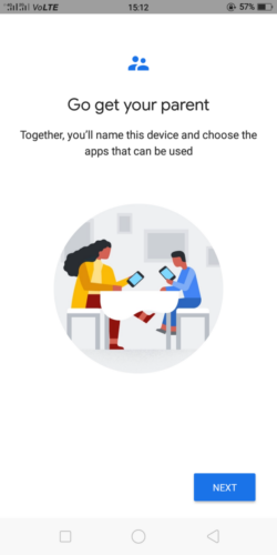Google Family Link for children and teens - Device name and apps