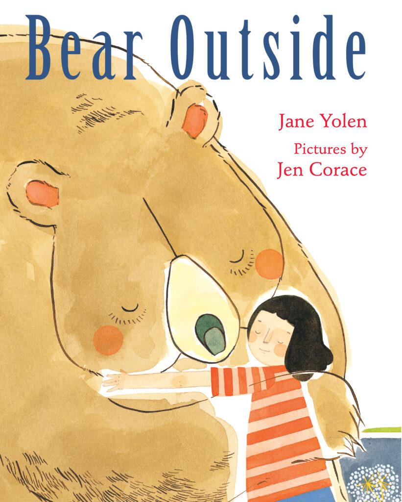 book cover BEAR OUTSIDE by Jane Yolen