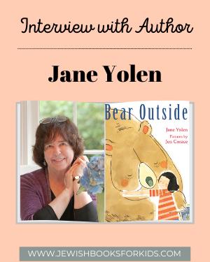 author Jane Yolen, BEAR OUTSIDE