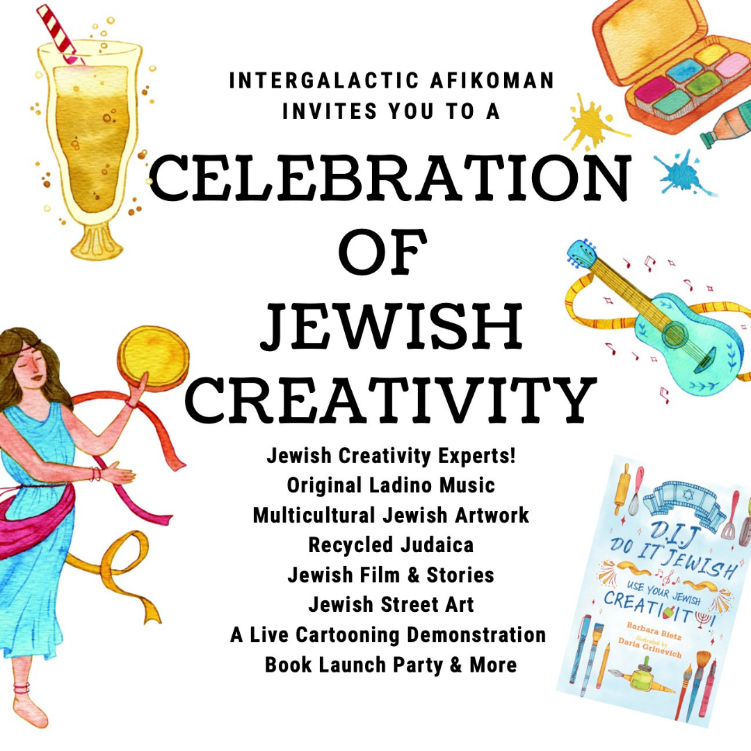 DIJ - DO IT JEWISH: USE YOUR JEWISH CREATIVITY!