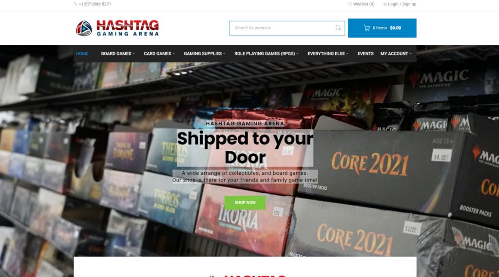 hashtagarenawebsite
