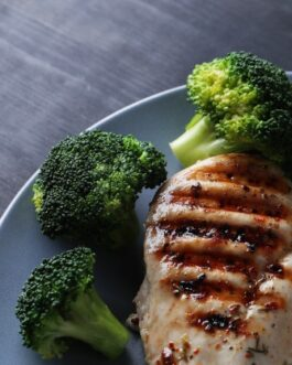 New! Ranch Chicken Breast with Roasted Broccoli & Peppers