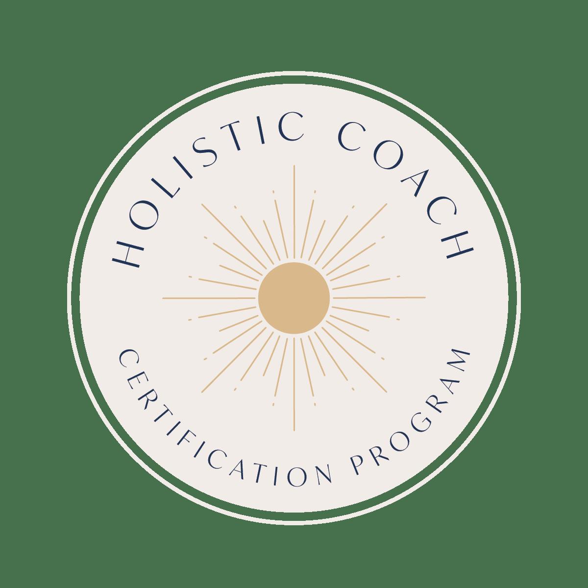 Holistic Coach Certification Program