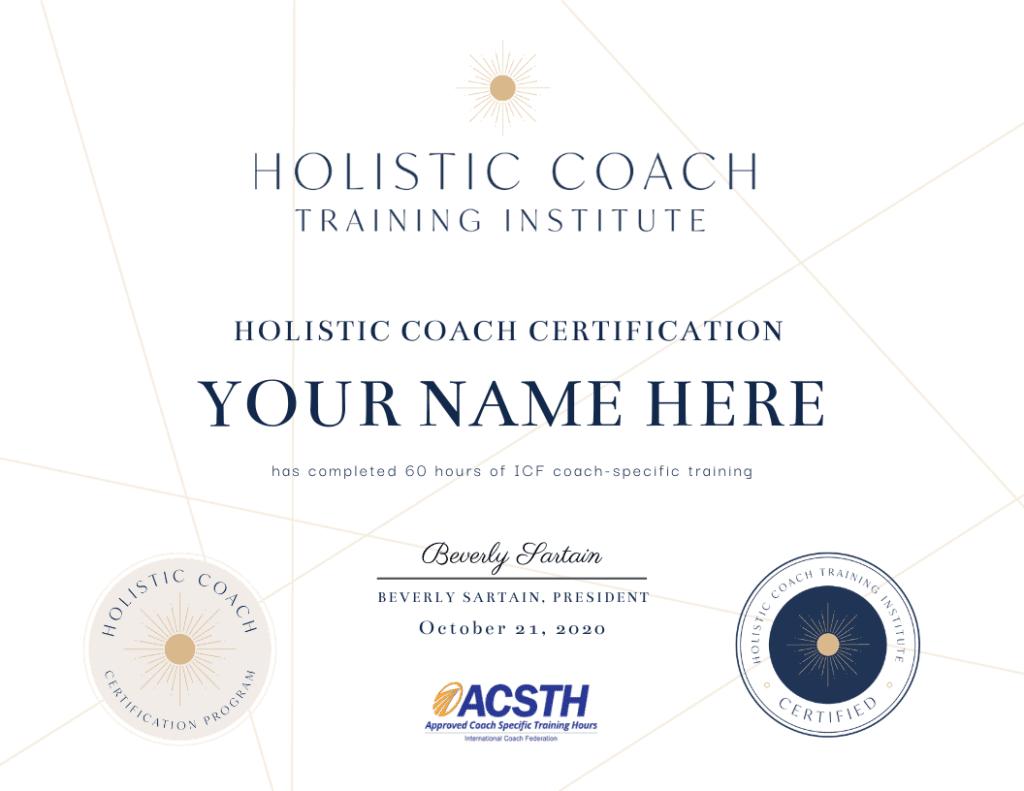 HCTI Certificate