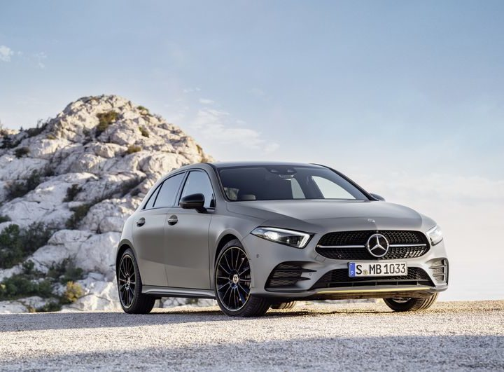 The New Mercedes Benz A-Class
