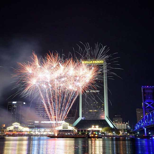 10 Best Places To View Jacksonville's 4th of July Fireworks