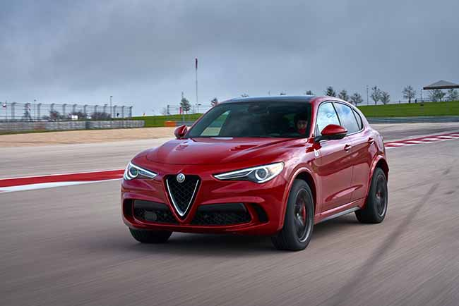 2018 Alfa Romeo Stelvio Quadrifoglio Wins 2018 Topless in Miami Top Honors