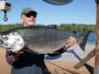 Aug 10 Rich with his 37.5# King!!!