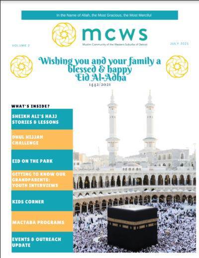 MCWS NewsLetter July 2021 Edition
