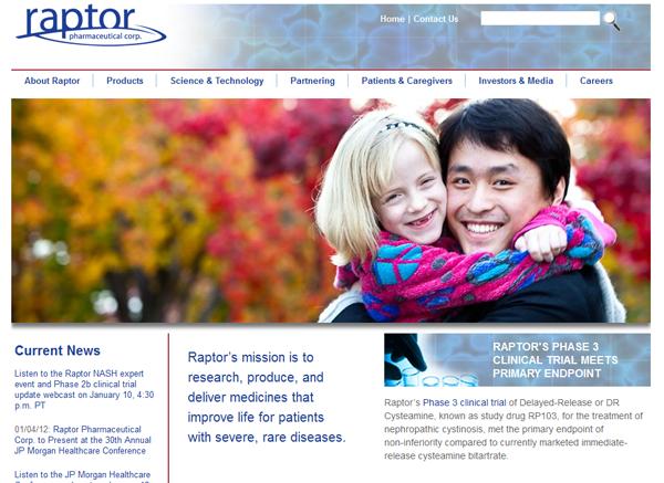raptor website lg