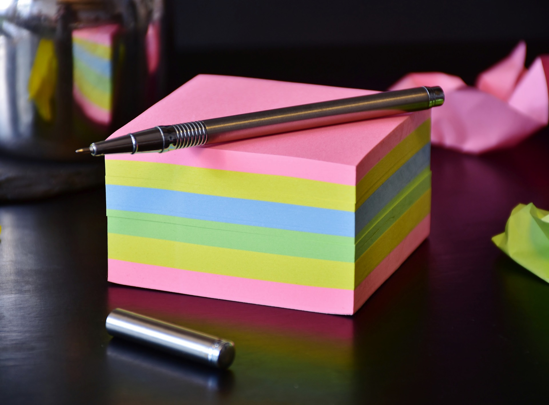 Naming, Post It Notes