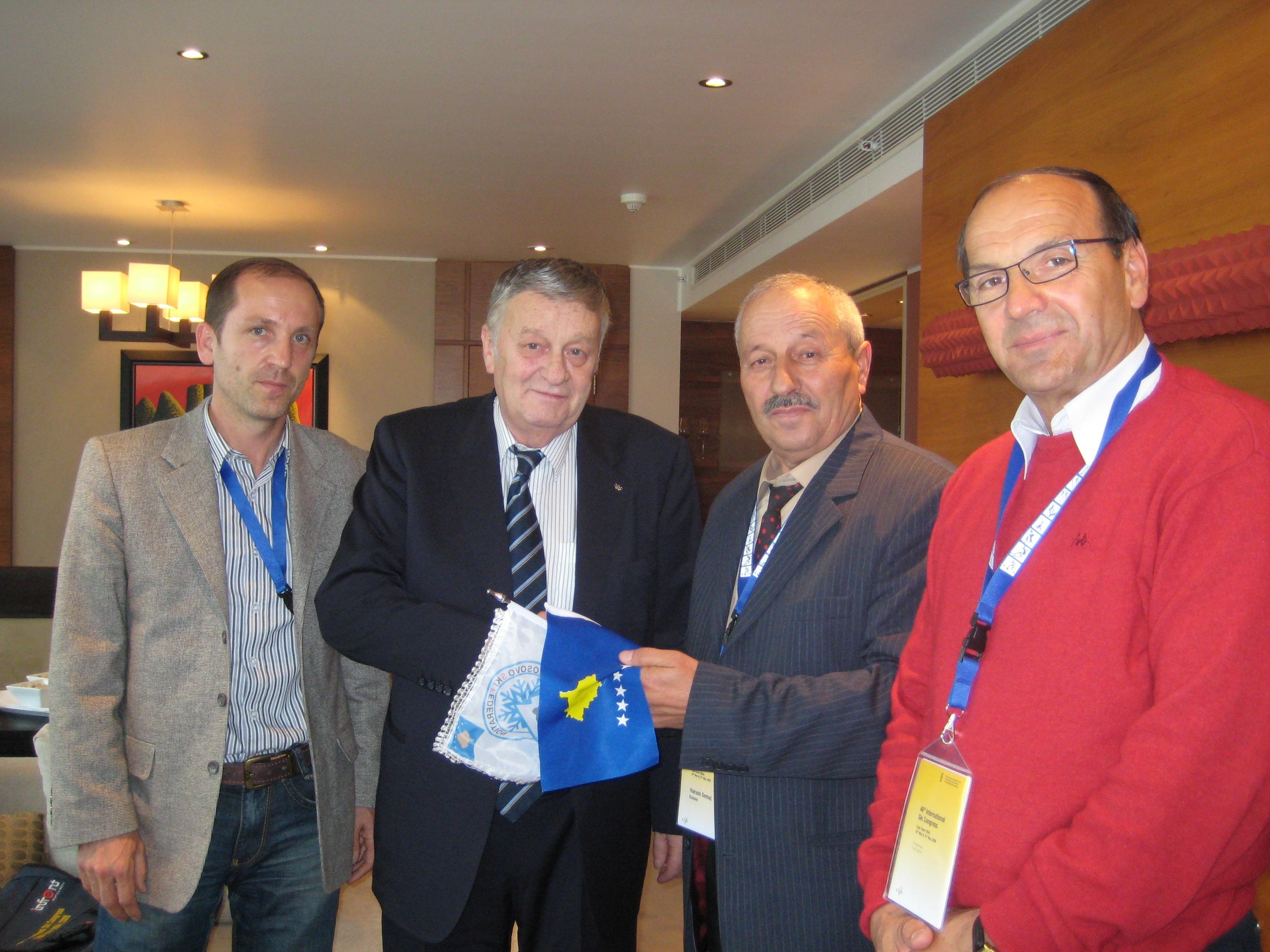 Kryetari I FIS 2008