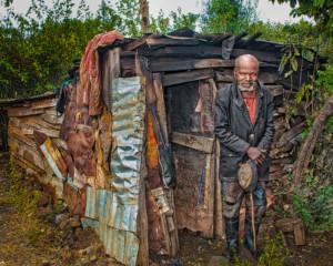 Old Man At His Home
