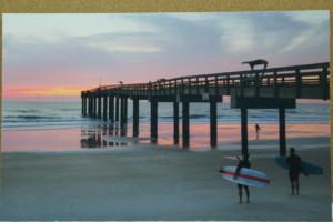 350-Surfers Sunrise (BEST OF MERIT)