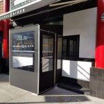 custom vestibule for NYC business