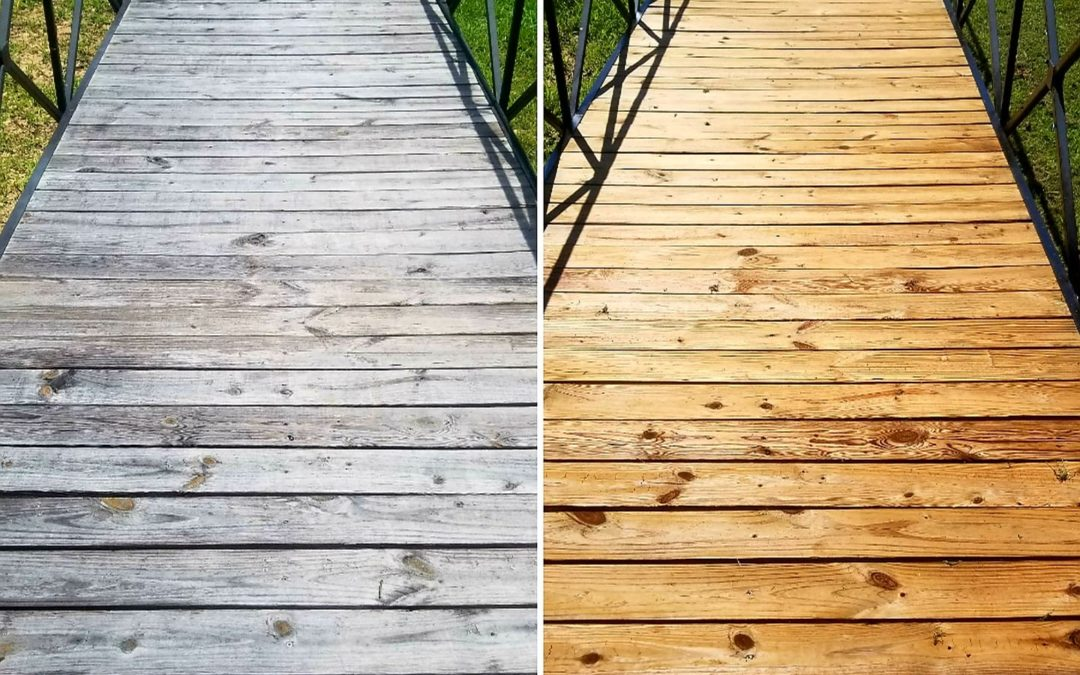 Benefits of Staining Your Wooden Deck