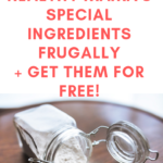 How I Use Trim Healthy Mama's Special Ingredients Frugally