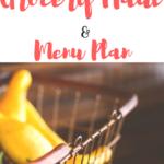THM Grocery Haul and Menu Plan!