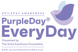 This is Purple Day® Every Day's official new logo.