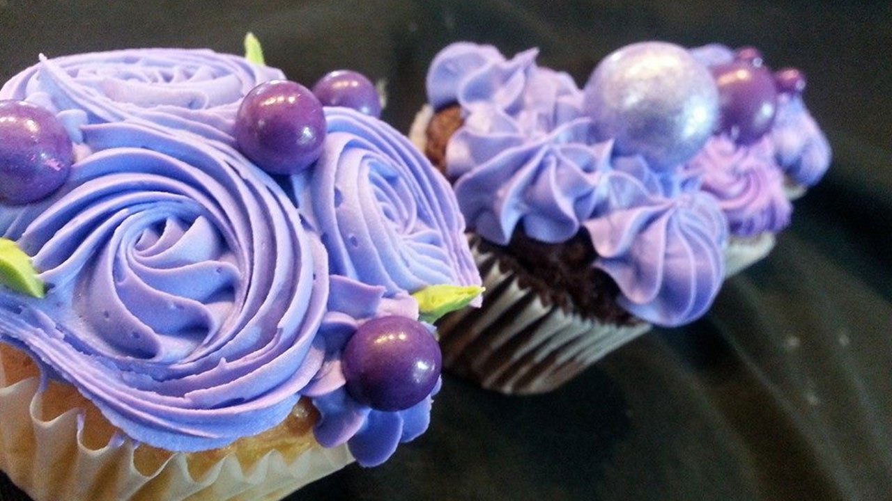 The Great Purple Cupcake Project Banner