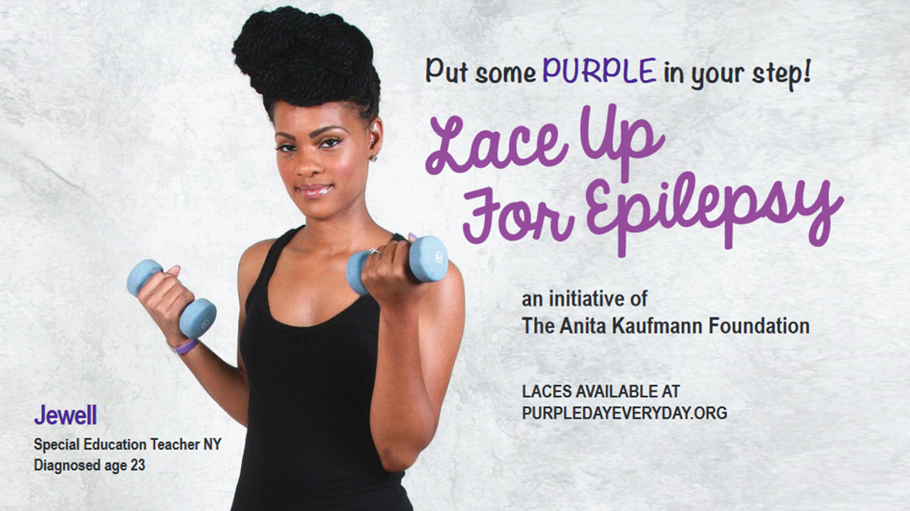 Lace Up For Epilepsy